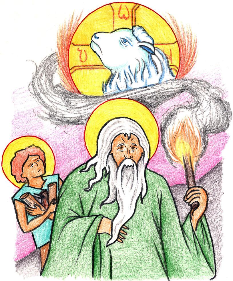 Genesis 22:6-8 by Parastos
