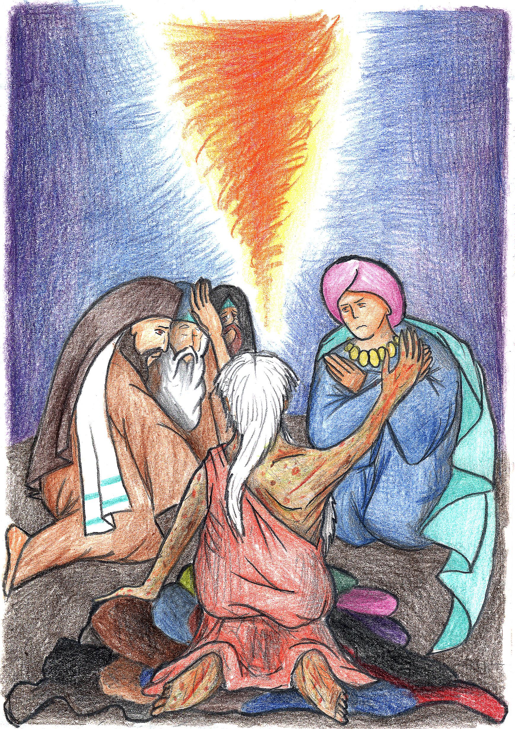 Job 38:1-3 by Parastos