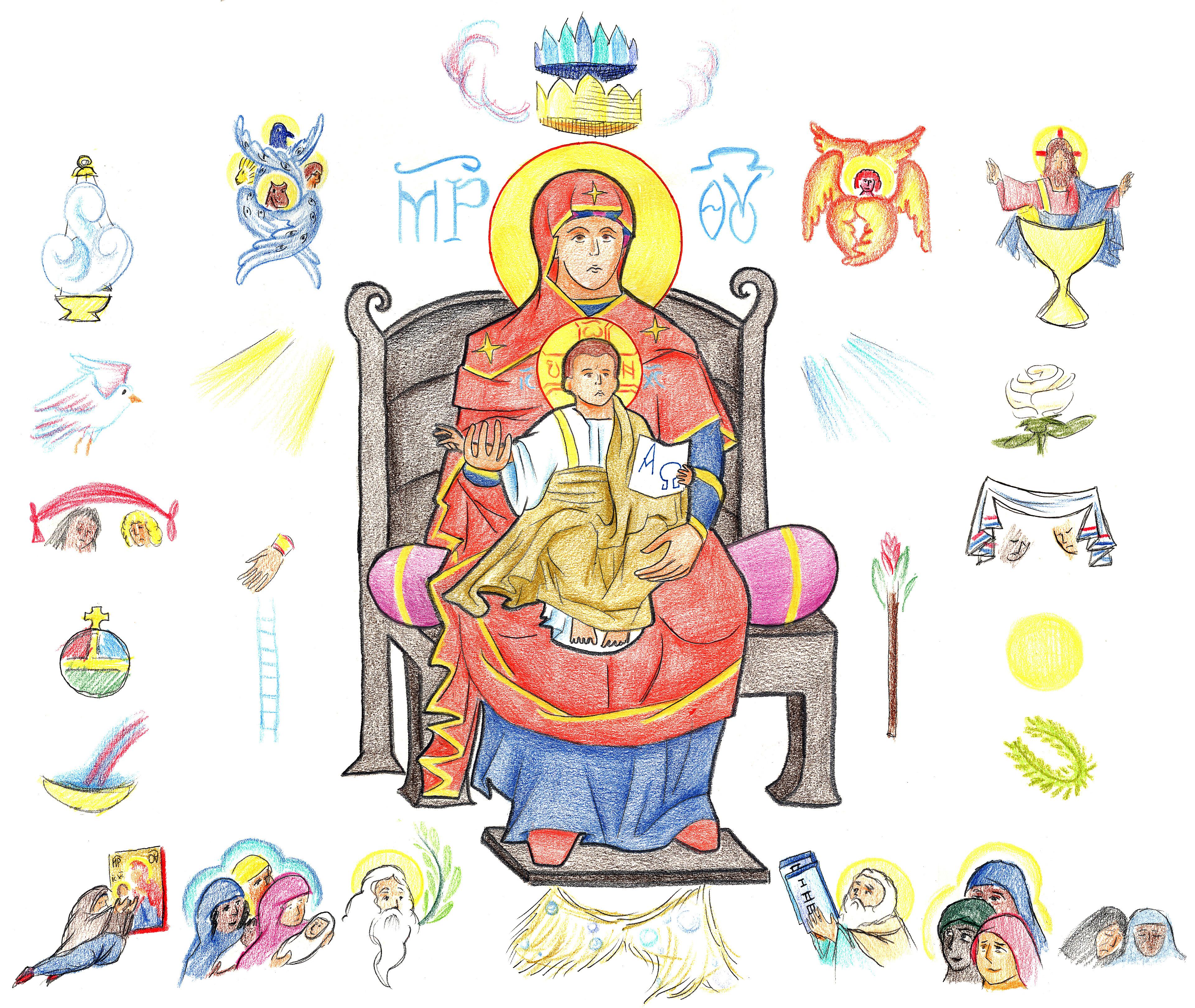 Luke 1:46-50 by Parastos