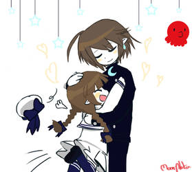 Meikai and wadanohara,doodle by moonplata