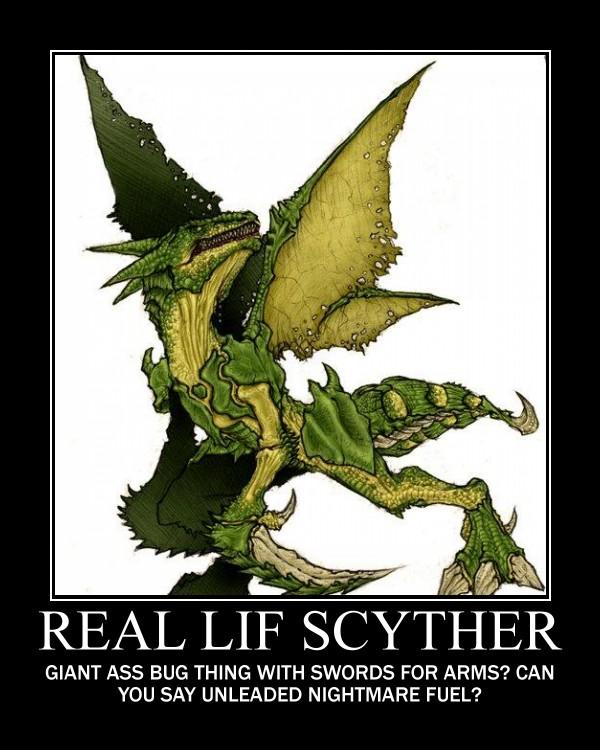 scyther demot by deathchaosgreymon