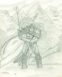 Warrior's trial..