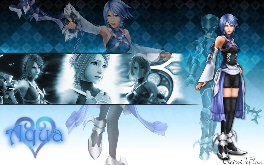 Kingdom Hearts Aqua Wallpaper Kingdom Hearts Aqua by