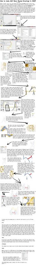 GIMP Ponies tutorial