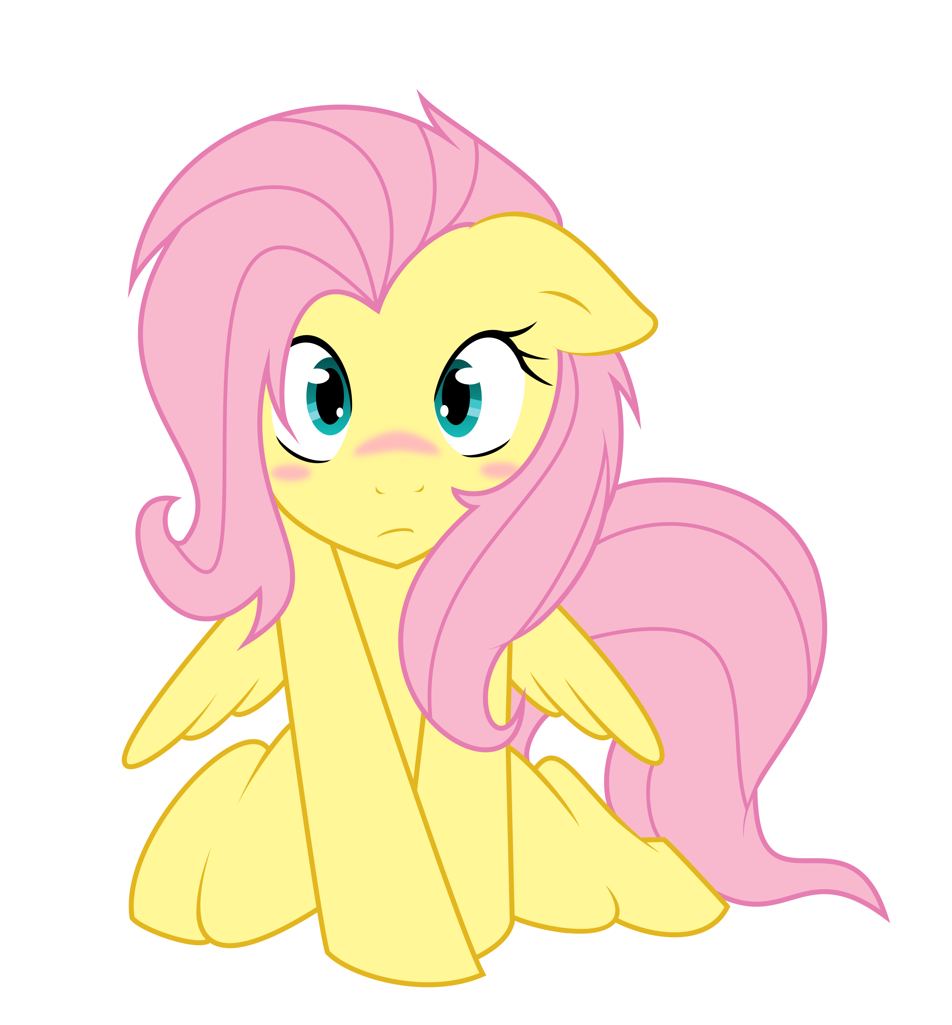Adorable Fluttershy by tyler611