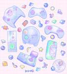 Level Up! Stickers