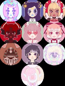 Toyhou.se Profile Icons