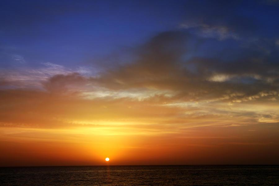 sunset by koko-stock