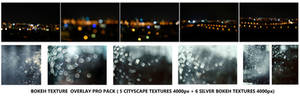 Bokeh texture overlay PRO pack