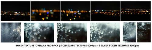 Bokeh texture overlay PRO pack by koko-stock