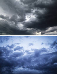 Dark Sky (2pack) by koko-stock