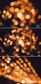 Golden Bokeh stock pack
