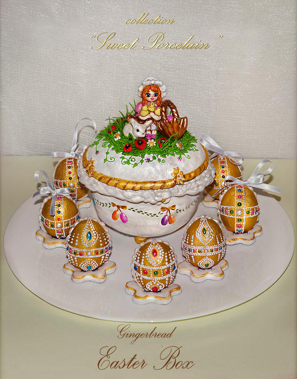 Gingerbread Easter Box by GingerbreadFairy