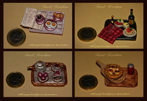 Happy Day Menu. Gingerbread Miniature by GingerbreadFairy