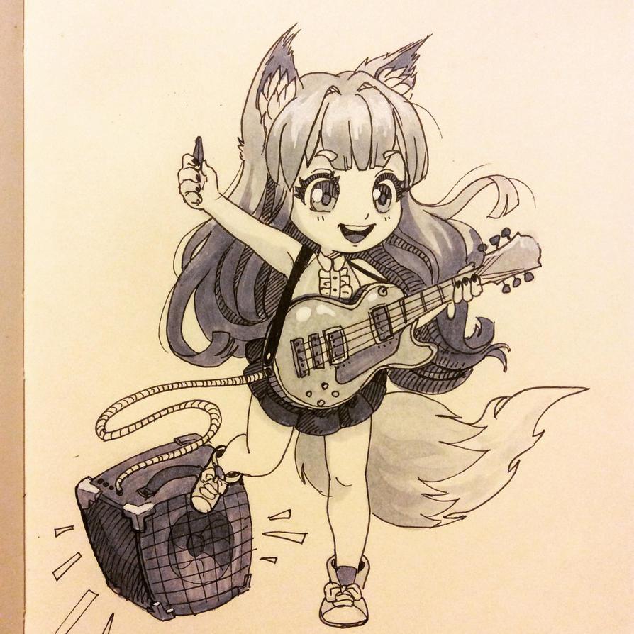 Little kitsune by prywinko