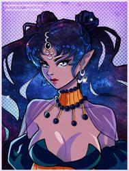 Queen Nehellenia by Prywinko