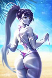 Beach Queen: Widowmaker ( vol.1) by Prywinko