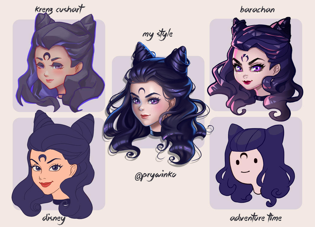 style challenge by prywinko on deviantart