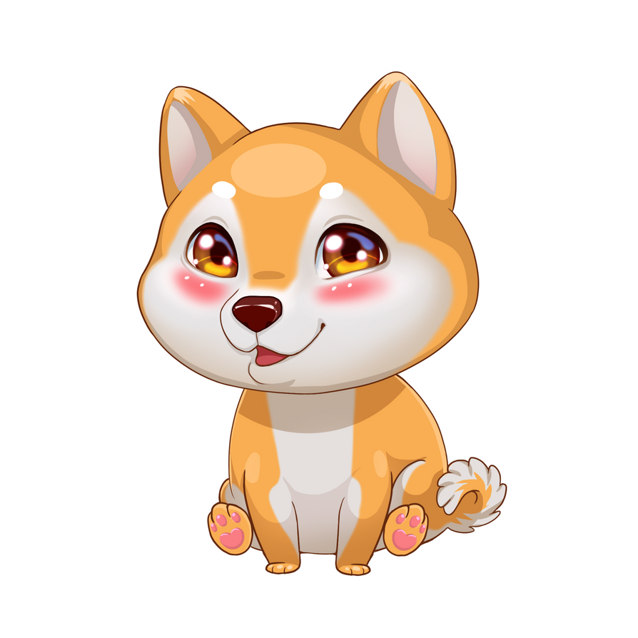 Must see Shiba Inu Anime Adorable Dog - shiba_inu_by_prywinko-daib1cn  Collection_30859  .png