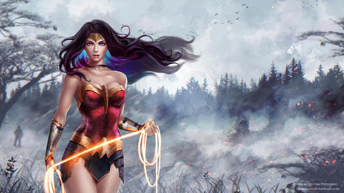 Wonder Woman by Prywinko