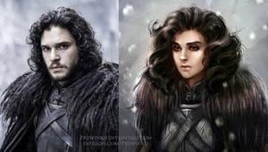 Speed Paint. If Jon were Joan