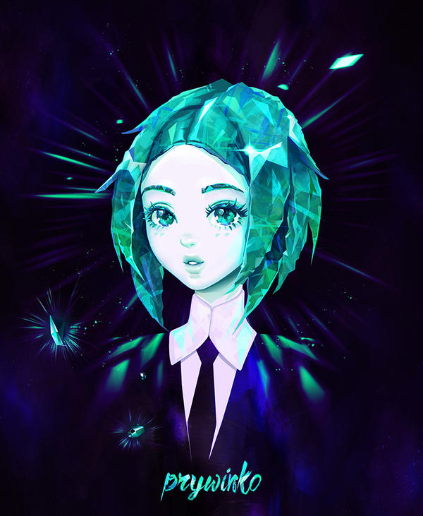 Phosphophyllite (Houseki no Kuni) by Prywinko