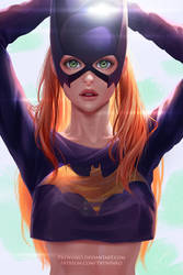 Batgirl  (mask) by Prywinko