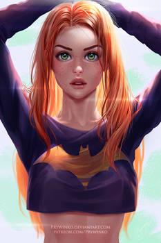 Batgirl (without mask)