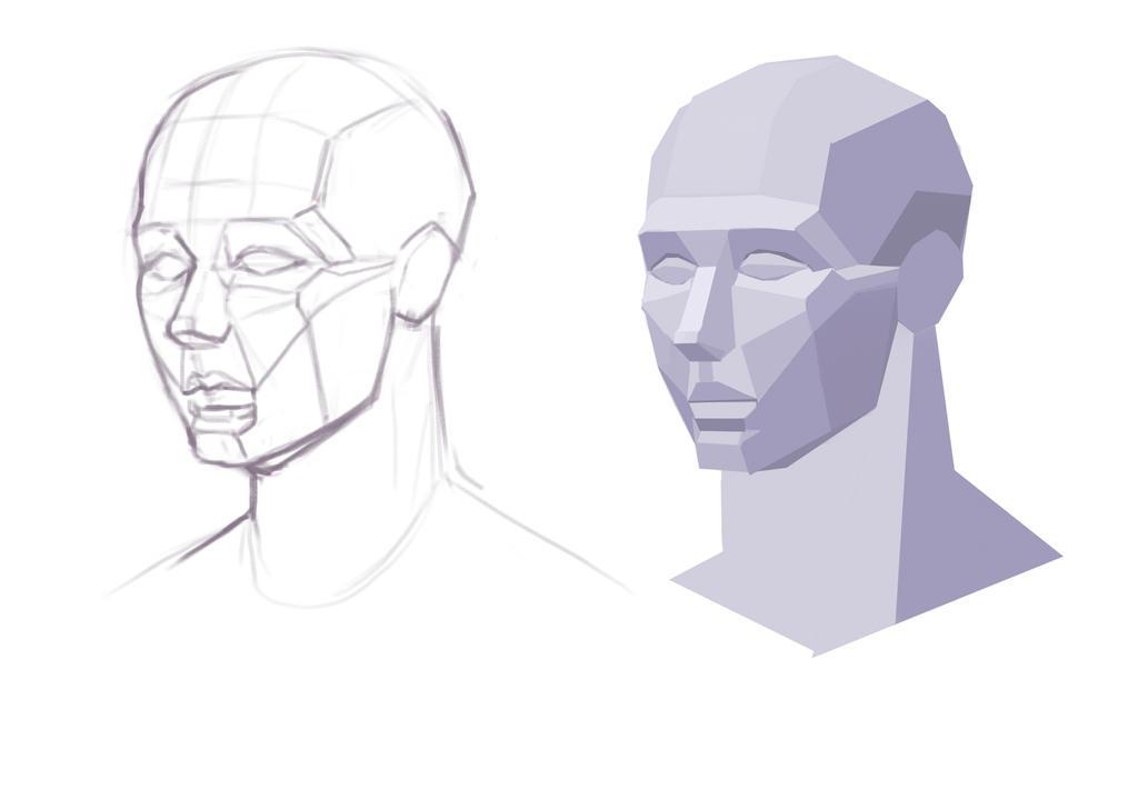 Tutorial face 4 by Prywinko