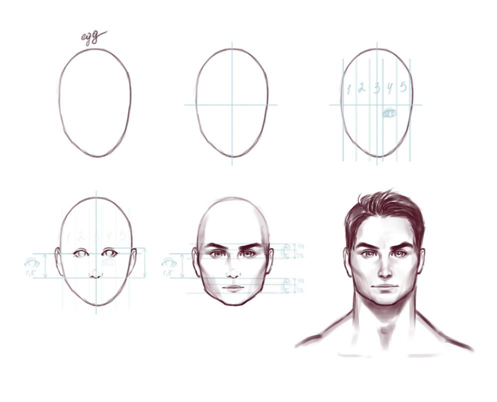 Tutorial face 6 by Prywinko