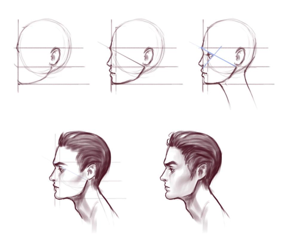 Tutorial face 7 by Prywinko