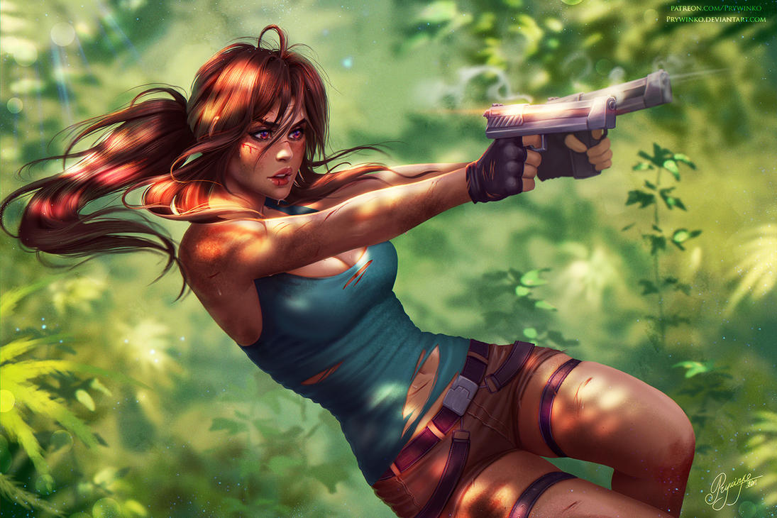 Lara Croft by Prywinko