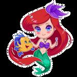 Ariel (chibi sticker)