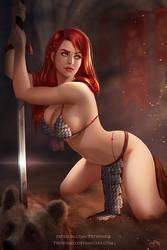 Red Sonja by Prywinko