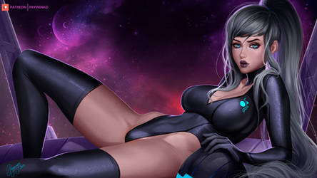 Dark Samus by Prywinko