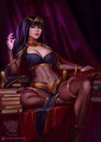 Mistress Tharja by Prywinko