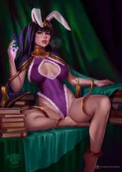 Easter Mistress Tharja. Happy Easter!
