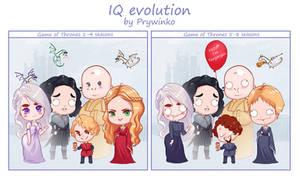 SPOILER!!!!!!  IQ evolution