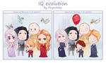 SPOILER!!!!!!  IQ evolution by Prywinko