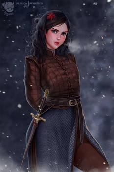 Not today. Arya Stark (68 image)