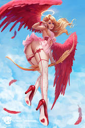 Midair Angel: Cupid by Prywinko