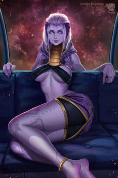 Tali'Zorah (Without Mask)