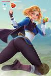 Zelda - Breath of the wild (short hair version)