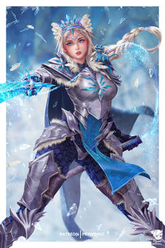 Frozen Knight Elsa