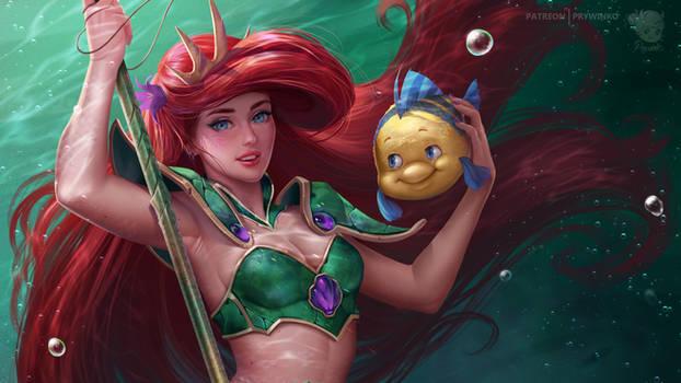 Wallpaper Knight Ariel