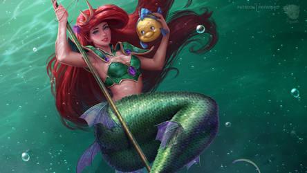 Wallpaper Knight Ariel (ver.2)