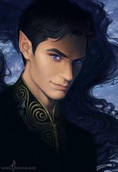Rhysand by AnnaShoemaker