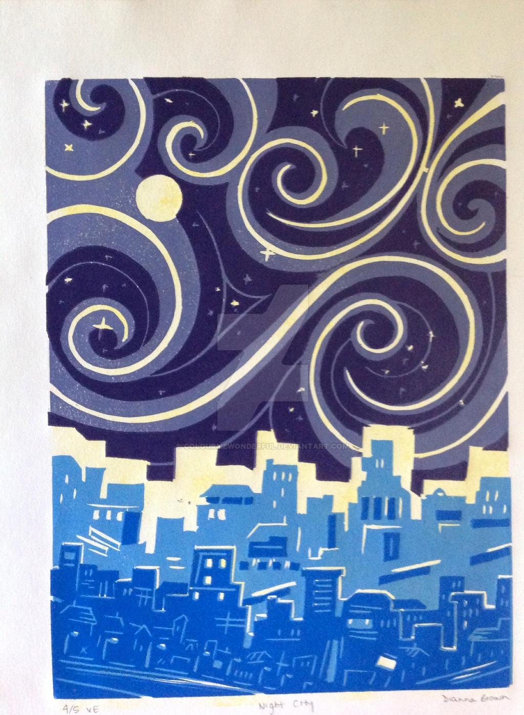 Night City by colourmewonderful