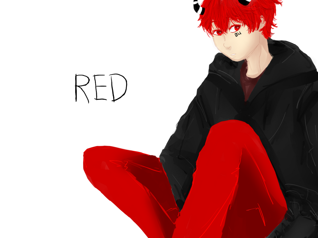 Art Trade with Sworro : Red by CiwiArt