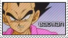 Vegeta - Badman Stamp by Gezusfreek